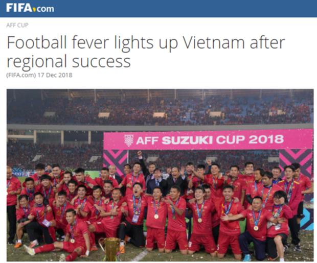 Liên đoàn bóng đá thế giới: Đây là kỷ nguyên thành công chưa từng có trong lịch sử bóng đá Việt Nam - Ảnh 1.