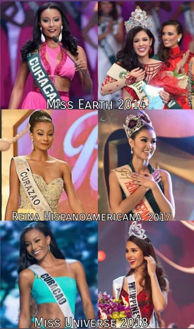 Top những điều trùng hợp thú vị về Hoa hậu Hoàn vũ 2018 so với các năm trước: Từ áo tắm hồng cho đến bức ảnh tiên đoán - Ảnh 1.