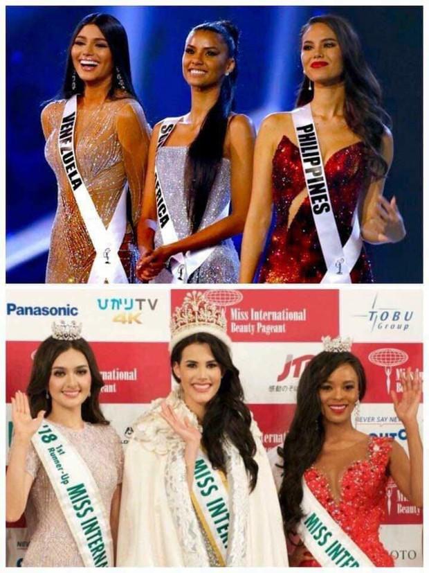 Top những điều trùng hợp thú vị về Hoa hậu Hoàn vũ 2018 so với các năm trước: Từ áo tắm hồng cho đến bức ảnh tiên đoán - Ảnh 12.