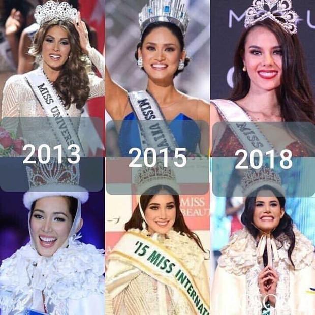 Top những điều trùng hợp thú vị về Hoa hậu Hoàn vũ 2018 so với các năm trước: Từ áo tắm hồng cho đến bức ảnh tiên đoán - Ảnh 10.