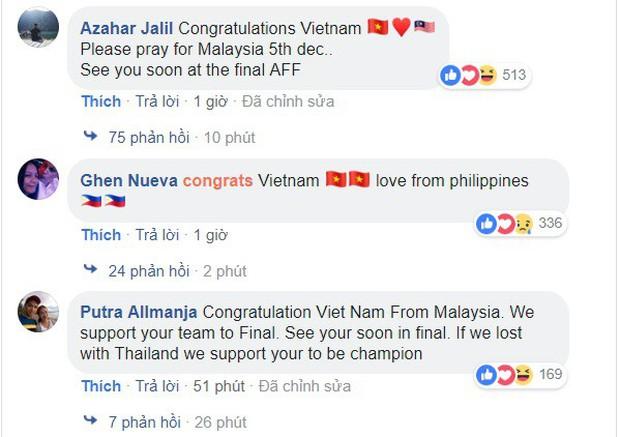 CĐV Philippines nể phục chiến thắng của ĐT Việt Nam, bạn bè Đông Nam Á nô nức chúc mừng thầy trò HLV Park Hang-seo - Ảnh 2.