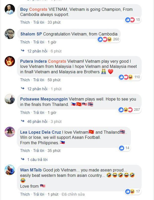 CĐV Philippines nể phục chiến thắng của ĐT Việt Nam, bạn bè Đông Nam Á nô nức chúc mừng thầy trò HLV Park Hang-seo - Ảnh 3.