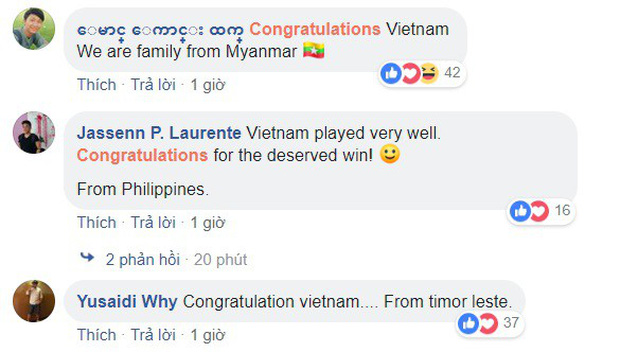 CĐV Philippines nể phục chiến thắng của ĐT Việt Nam, bạn bè Đông Nam Á nô nức chúc mừng thầy trò HLV Park Hang-seo - Ảnh 4.