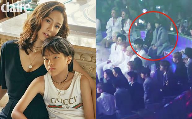 Tiết lộ lý do đằng sau lùm xùm con trai Son Tae Young chiếm chỗ idol tại MMA, netizen Hàn bị chỉ trích ngược - Ảnh 1.