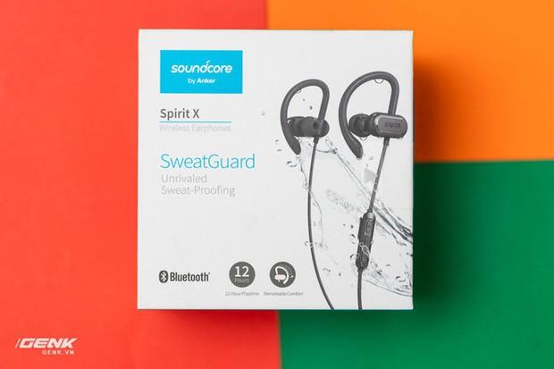 Đánh giá tai nghe không dây Anker Soundcore Spirit X - Hoàn hảo cho các gym thủ - Ảnh 1.