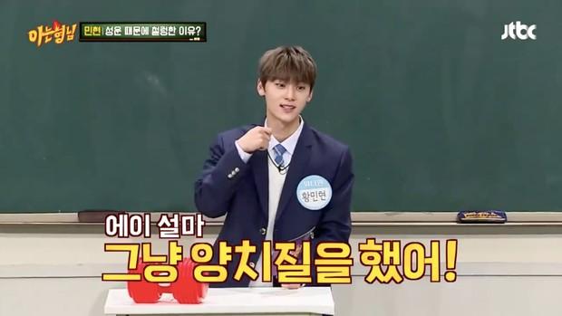Minhyun (Wanna One) choáng váng khi biết bạn cùng phòng dùng nhầm bàn chải của mình  - Ảnh 2.
