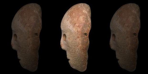 Bí ẩn mặt nạ đá 9.000 năm mới tìm thấy ở Israel, có cả xương gò má và mũi hoàn hảo - Ảnh 3.