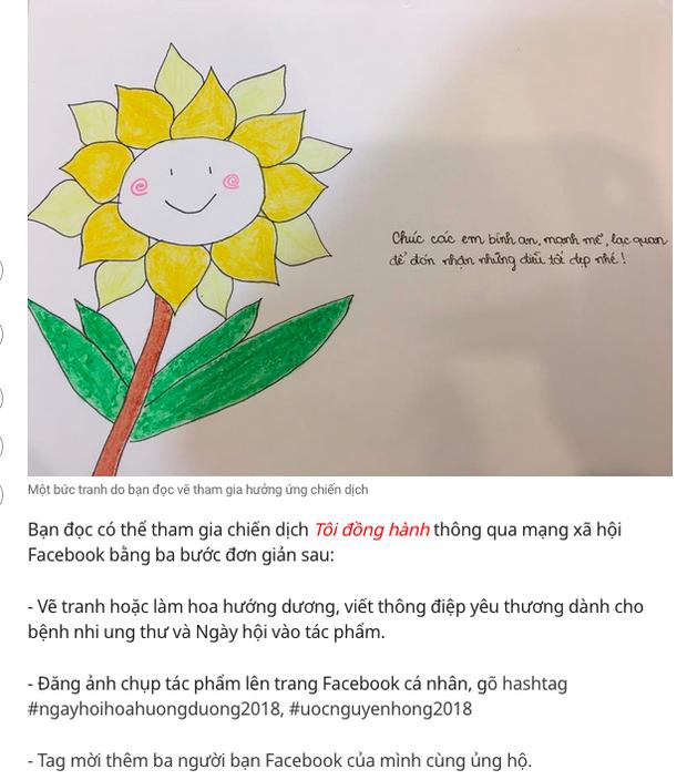 Bị hoài nghi, nhà tài trợ góp 5 tỷ đồng cho hơn 300.000 hoa hướng dương trên FB nói: Trong thể lệ không yêu cầu nhắc tên doanh nghiệp - Ảnh 3.