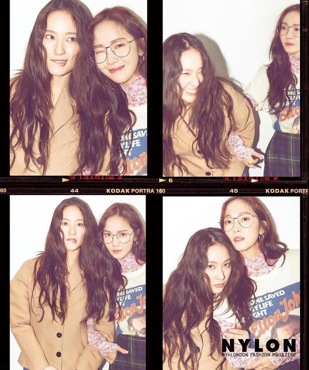 Hai chị em Jessica và Krystal lại rủ rê nhau chụp bìa tạp chí, xinh đẹp và càng nhìn càng giống sinh đôi - Ảnh 4.