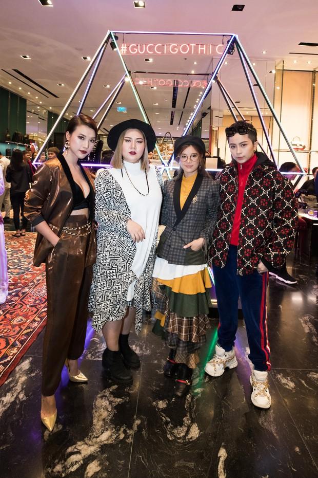 Mọi đôi bạn thân cũ đều hội tụ tại sự kiện Gucci: Kỳ Duyên đụng độ Jolie Nguyễn, Chi Pu tái ngộ Gil Lê - Ảnh 18.