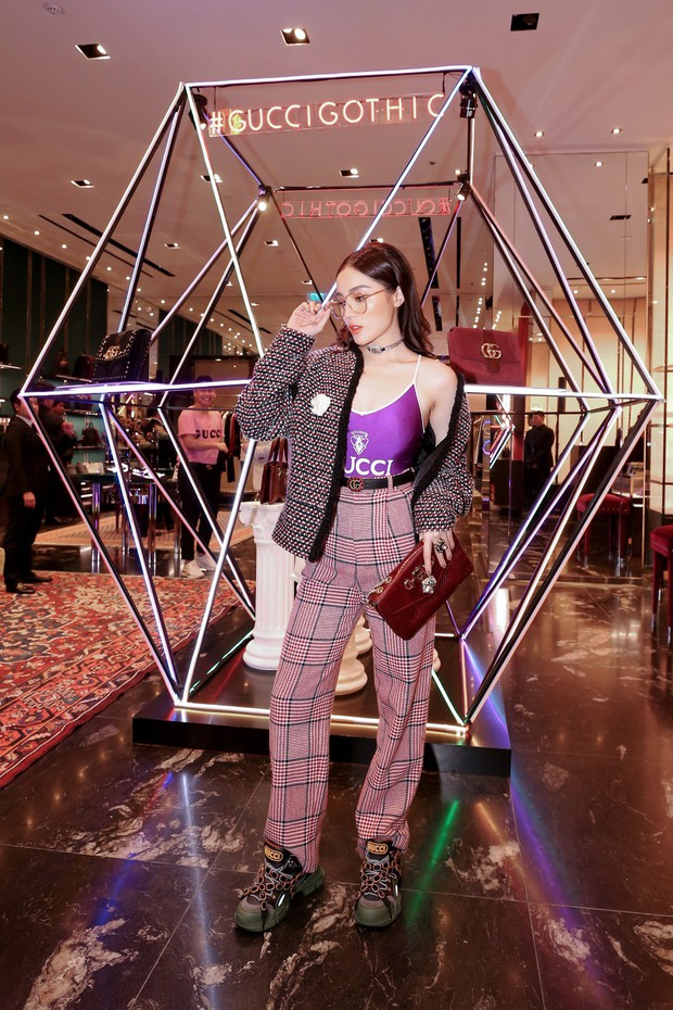 Mọi đôi bạn thân cũ đều hội tụ tại sự kiện Gucci: Kỳ Duyên đụng độ Jolie Nguyễn, Chi Pu tái ngộ Gil Lê - Ảnh 5.