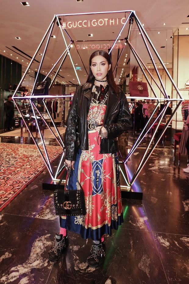 Mọi đôi bạn thân cũ đều hội tụ tại sự kiện Gucci: Kỳ Duyên đụng độ Jolie Nguyễn, Chi Pu tái ngộ Gil Lê - Ảnh 4.