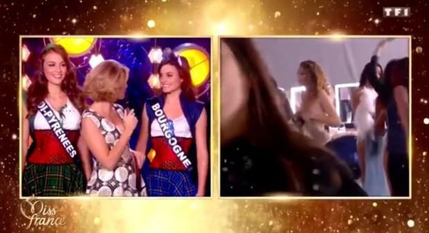 Thí sinh Hoa hậu Pháp 2019 bức xúc vì bị phát cảnh lộ ngực trần ngay lên sóng truyền hình trực tiếp - Ảnh 1.