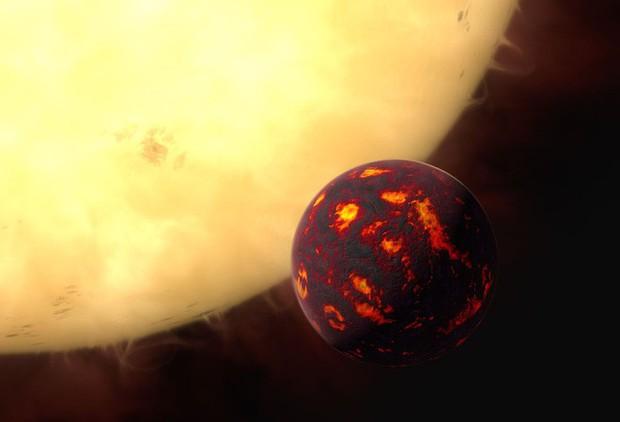 Phát hiện Siêu Trái Đất chứa kho báu khổng lồ toàn hồng ngọc, sapphire, khá gần chúng ta - Ảnh 2.