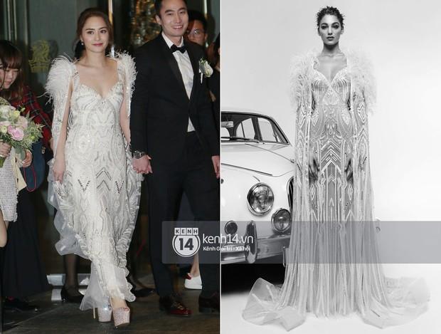 Thay liền 3 bộ váy cưới đẹp như mơ, Chung Hân Đồng lại khiến dân tình say lòng vì quá đỗi xinh đẹp - Ảnh 3.