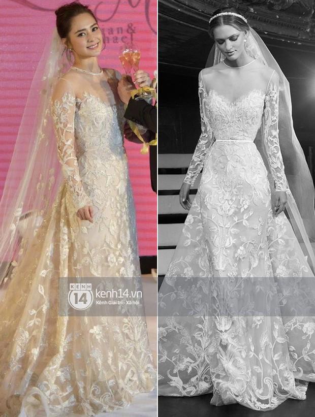 Thay liền 3 bộ váy cưới đẹp như mơ, Chung Hân Đồng lại khiến dân tình say lòng vì quá đỗi xinh đẹp - Ảnh 7.