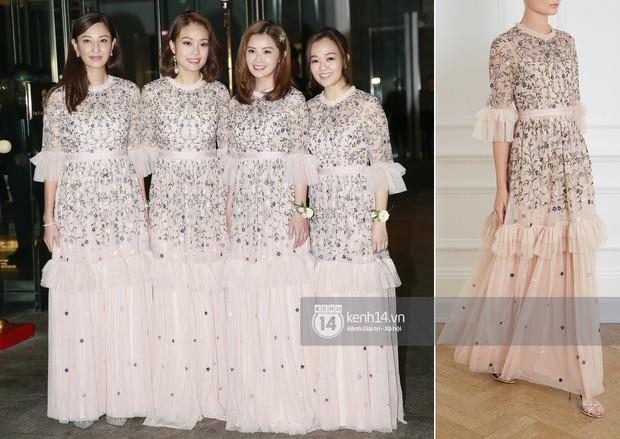 Thay liền 3 bộ váy cưới đẹp như mơ, Chung Hân Đồng lại khiến dân tình say lòng vì quá đỗi xinh đẹp - Ảnh 12.