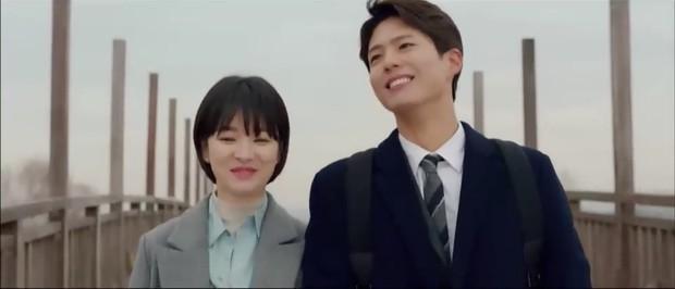 """""""Encounter"""" tập 8: Xem Song Hye Kyo - Park Bo Gum hôn môi ngọt ngào mà lòng buồn hiu hắt - Ảnh 9."""