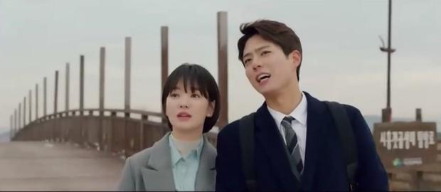 """""""Encounter"""" tập 8: Xem Song Hye Kyo - Park Bo Gum hôn môi ngọt ngào mà lòng buồn hiu hắt - Ảnh 8."""
