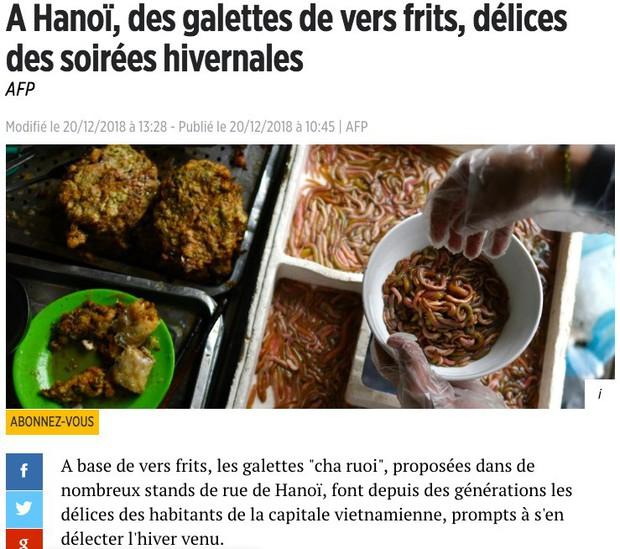 Món ngon mùa đông Hà Nội xuất hiện lung linh trên báo Pháp nhưng nhiều người vẫn không dám ăn vì lý do này - Ảnh 1.