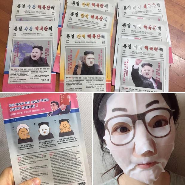 Hứa hẹn tạo đột phá như bom nguyên tử nổ trên mặt, mặt nạ dưỡng da lấy cảm hứng từ Kim Jong Un bán siêu chạy - Ảnh 2.