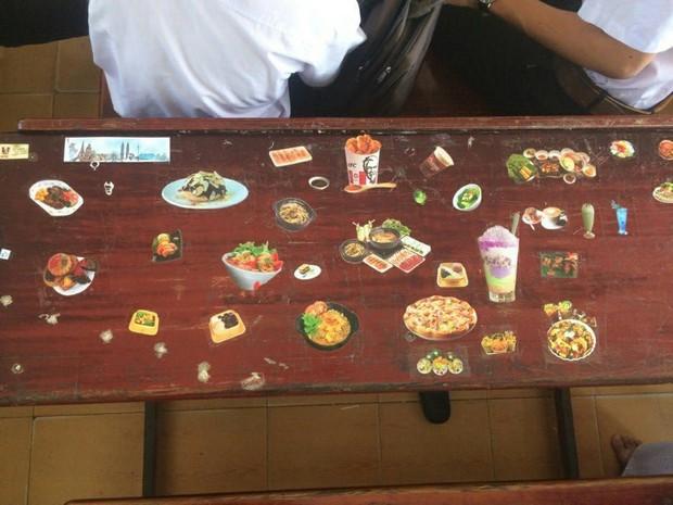 Rảnh tay vẽ giết thời gian, nhiều bạn đã tạo nên siêu phẩm trên bàn tuyệt đỉnh thế này đây - Ảnh 9.