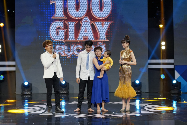 Vợ chồng Xuân Thảo - Đình Lộc chiến thắng 100 giây rực rỡ - Ảnh 1.