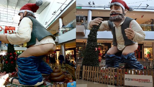 Quên ông già Noel đi, người dân vùng đất này đón Giáng Sinh bằng tượng... người đi cầu - Ảnh 7.