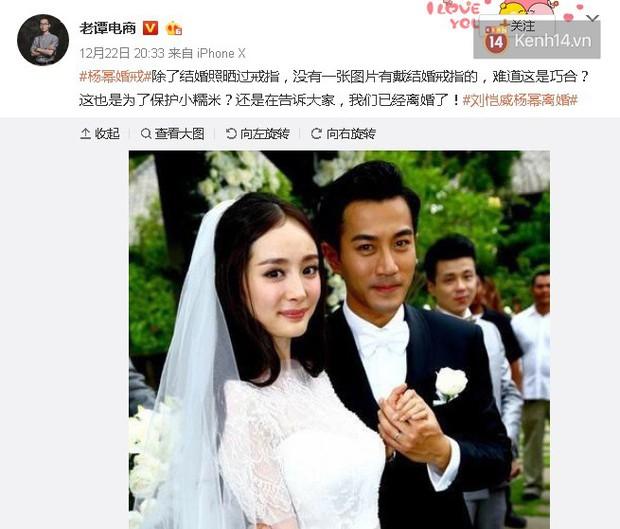 """Điều bất thường phía sau nhẫn cưới 70 triệu của Dương Mịch, khiến cô bị tố """"suốt 4 năm liền không đeo nhẫn"""" - Ảnh 3."""