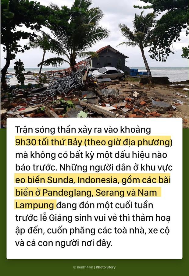 Toàn cảnh thảm họa sóng thần tàn phá Indonesia khiến hơn 1000 người thương vong và mất tích - Ảnh 1.
