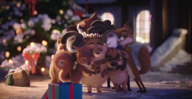 Phim quảng cáo đáng yêu nhất Giáng sinh năm nay: Noel của chú nhím đầy gai không ai dám lại gần - Ảnh 6.
