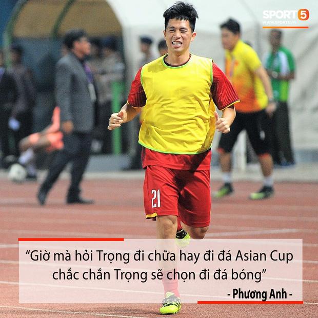 Fan hiến kế hài hước: Cho Đình Trọng vào bao, ném sang Hàn Quốc để tập trung điều trị chấn thương - Ảnh 3.