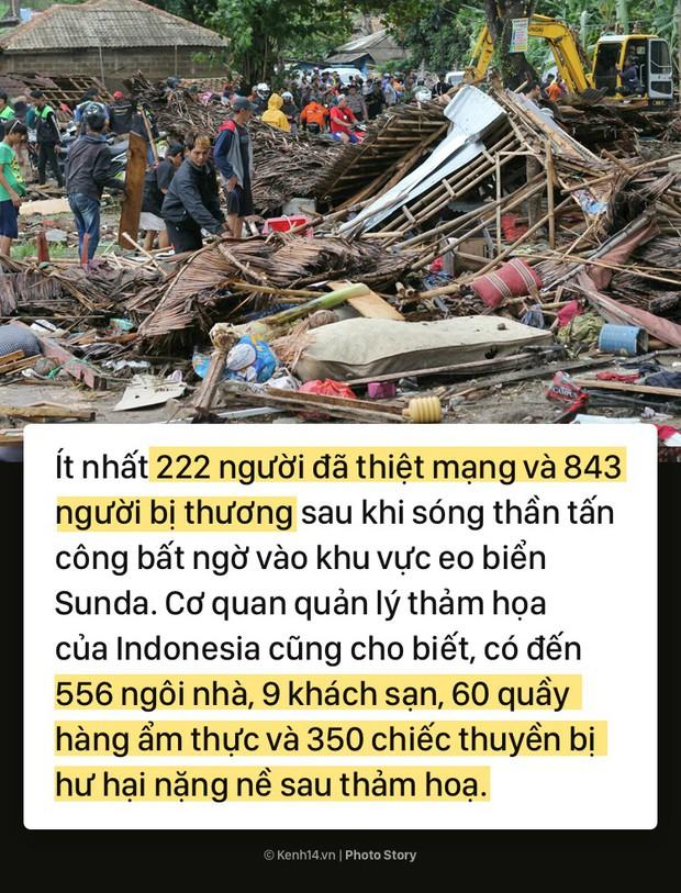 Toàn cảnh thảm họa sóng thần tàn phá Indonesia khiến hơn 1000 người thương vong và mất tích - Ảnh 5.