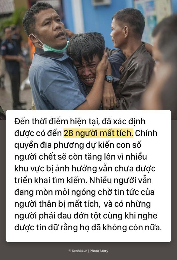 Toàn cảnh thảm họa sóng thần tàn phá Indonesia khiến hơn 1000 người thương vong và mất tích - Ảnh 7.
