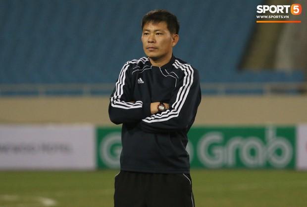 Cầu thủ CHDCND Triều Tiên thoải mái cười đùa trên sân tập trước ngày đối đầu Việt Nam - Ảnh 9.