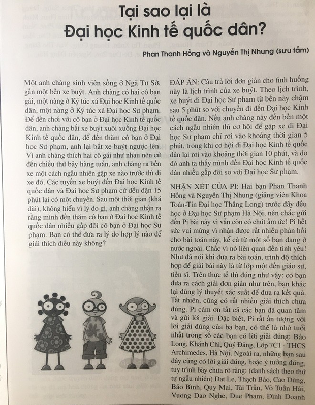 Những bài Toán gây sốt MXH 2018, trong đó có câu hỏi về ngoại tình của giáo sư Ngô Bảo Châu khiến dân tình lú lẫn - Ảnh 2.