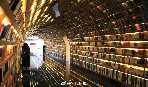 Choáng ngợp thư viện trường ĐH 57 tỷ, rộng 20.000 m2 được xây theo phong cách thuỷ cung - Ảnh 3.