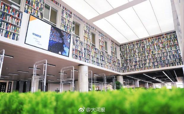 Choáng ngợp thư viện trường ĐH 57 tỷ, rộng 20.000 m2 được xây theo phong cách thuỷ cung - Ảnh 8.