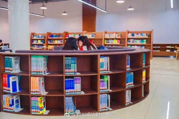 Choáng ngợp thư viện trường ĐH 57 tỷ, rộng 20.000 m2 được xây theo phong cách thuỷ cung - Ảnh 11.