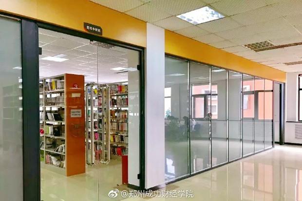 Choáng ngợp thư viện trường ĐH 57 tỷ, rộng 20.000 m2 được xây theo phong cách thuỷ cung - Ảnh 12.