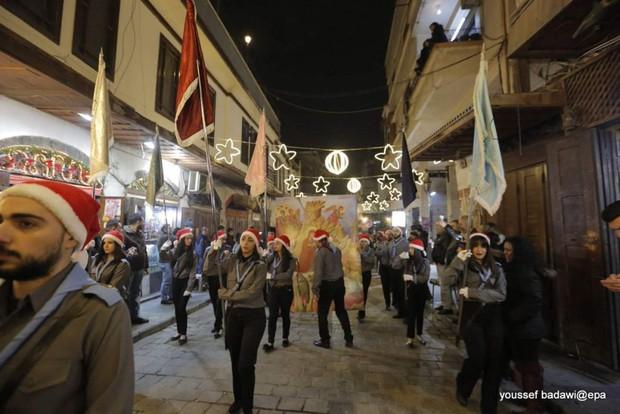 Giáng sinh an lành ở Syria: Từ mảnh đất đau thương đến sự sống và bình yên - Ảnh 2.