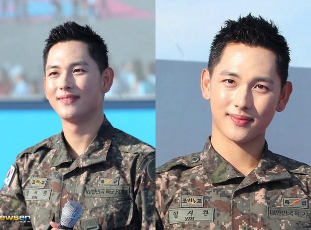 Ai ngờ nhập ngũ là thước đo nhan sắc chuẩn nhất của các nam thần Kbiz: Hyun Bin, Ji Chang Wook gây sốc vì mặt mộc - Ảnh 27.