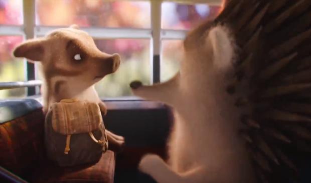 Phim quảng cáo đáng yêu nhất Giáng sinh năm nay: Noel của chú nhím đầy gai không ai dám lại gần - Ảnh 3.