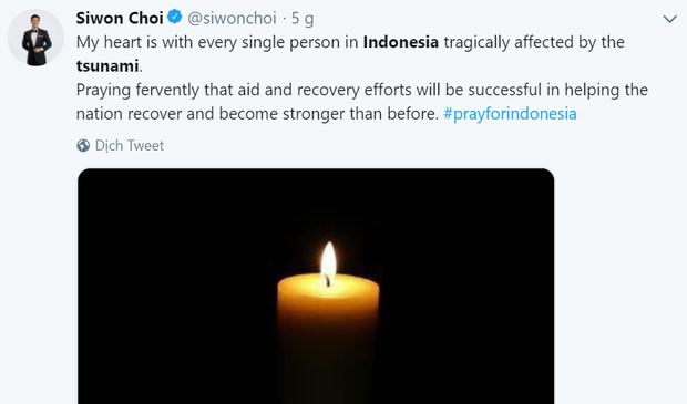 Tổng thống Mỹ, Thủ tướng Canada và nhiều người nổi tiếng bàng hoàng trước thảm họa sóng thần tại Indonesia - Ảnh 8.