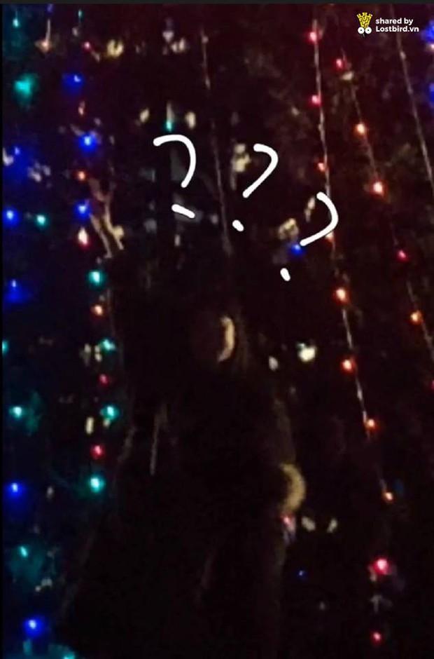 Hớn hở tạo dáng bên cây thông, cô gái bỗng tàng hình vì người chụp không có tâm - Ảnh 3.