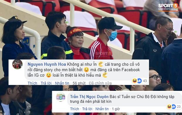 Fan bình luận hài hước, bóc mẽ vụ Đình Trọng cải trang vào sân Mỹ Đình - Ảnh 1.