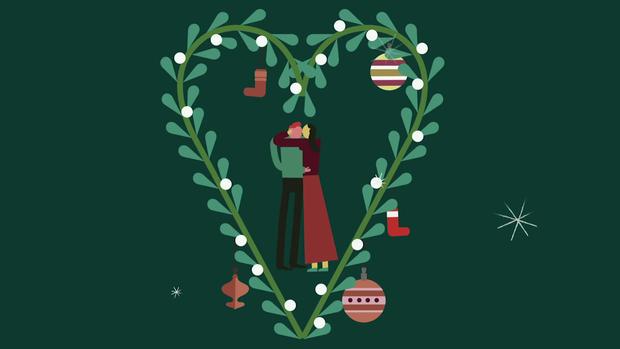 Nụ hôn dưới cây tầm gửi trong lễ Giáng Sinh: tục lệ này bắt nguồn từ đâu và có ý nghĩa gì? - Ảnh 1.
