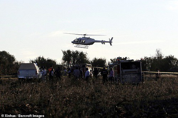 Hiện trường vụ rơi trực thăng khiến nữ Thống đốc Mexico thiệt mạng - Ảnh 5.