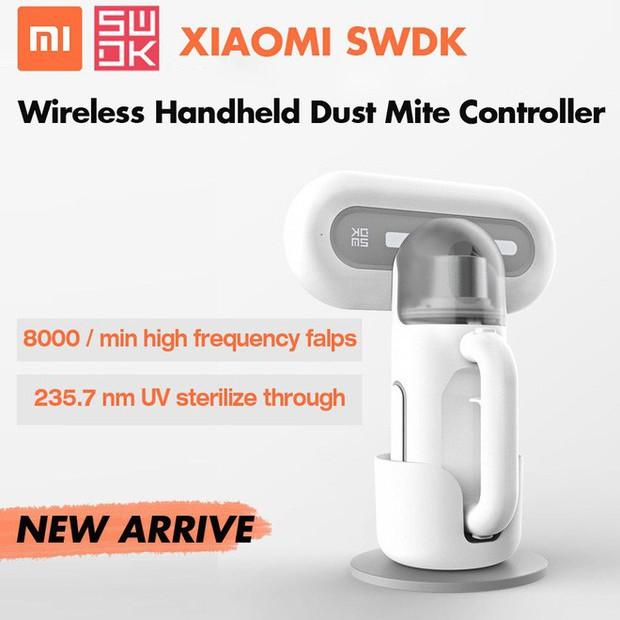 Xiaomi ra mắt máy hút bụi cầm tay nhỏ gọn, lực hút cực mạnh, diệt khuẩn bằng tia UV, giá 800.000 đồng - Ảnh 1.