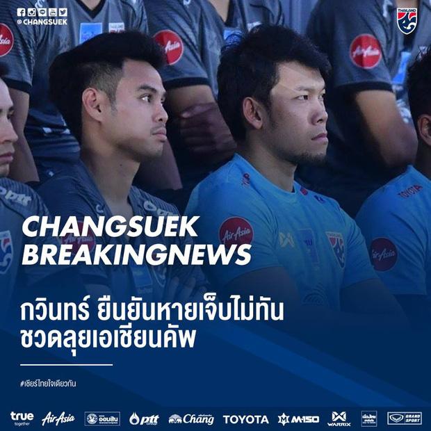 ĐT Thái Lan chính thức mất thủ môn số 1, có thể phải dùng lại thảm họa thủ môn chúc Malaysia ngủ ngon - Ảnh 1.